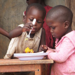 Improving child health through agriculture: orange sweet potatoes