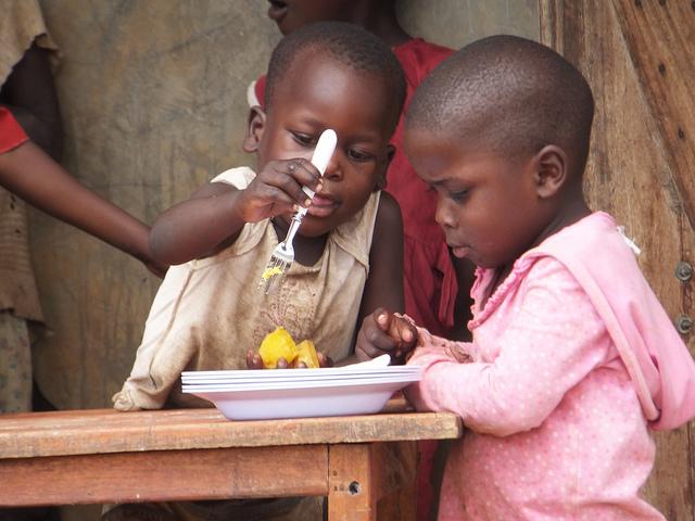 Improving child health through agriculture: orange sweet potatoes