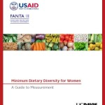 New guide on using indicator for women's dietary diversity