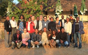 Participants in the Innovative Methods Doctoral Education Course, 'Urbanisation, Livelihoods & Food Security' at the University of Botswana, 2014. (Credit: Wai-Tim Ng)