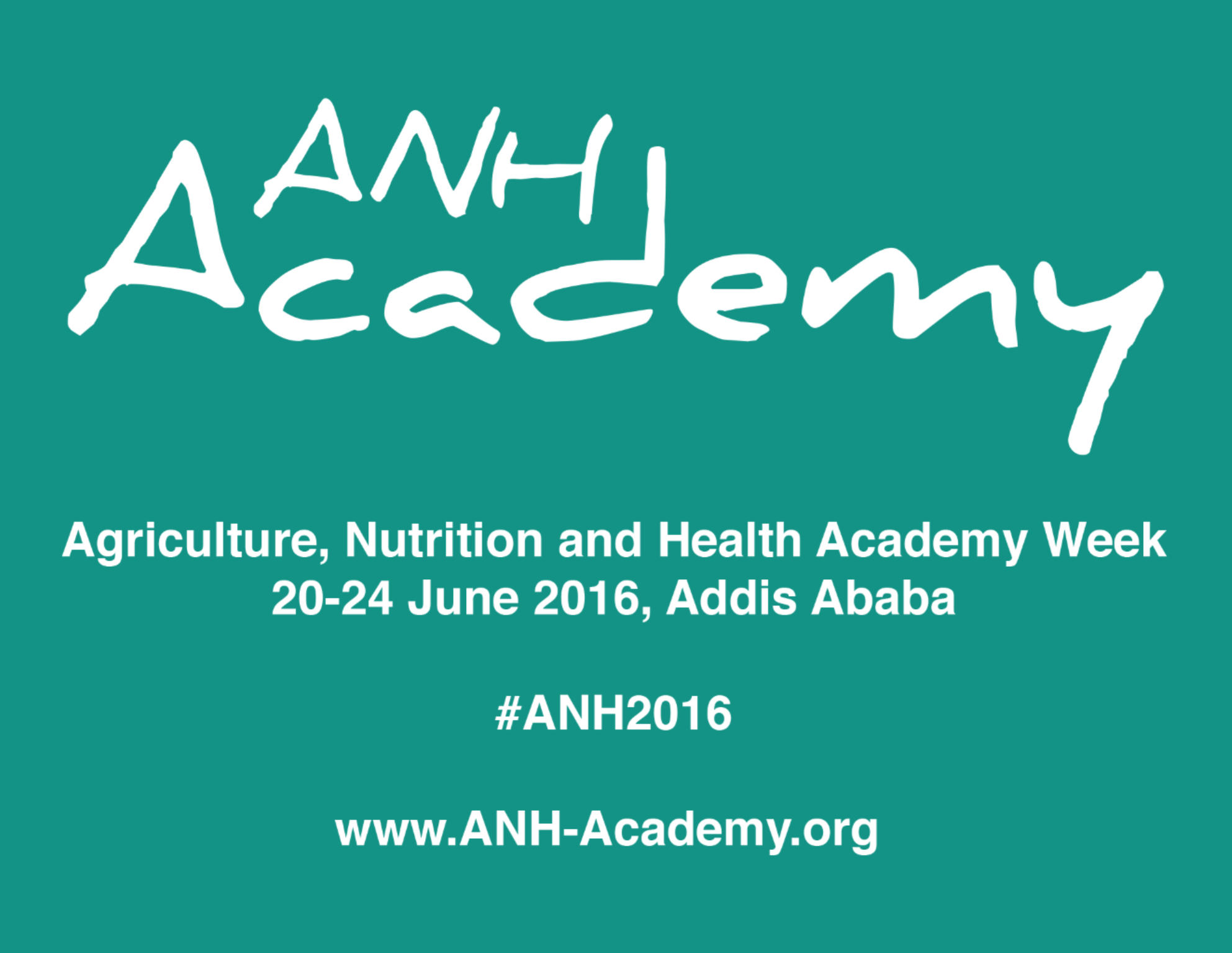 aeb493e0a5 First annual ANH Academy Week coming up - Agriculture for Nutrition ...