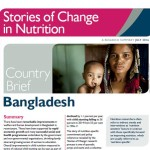Stories of change in nutrition: country briefs available