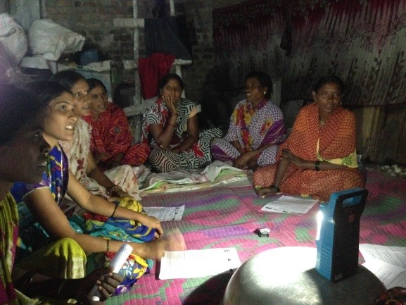 Using qualitative methods to study value chains for nutrition in rural India