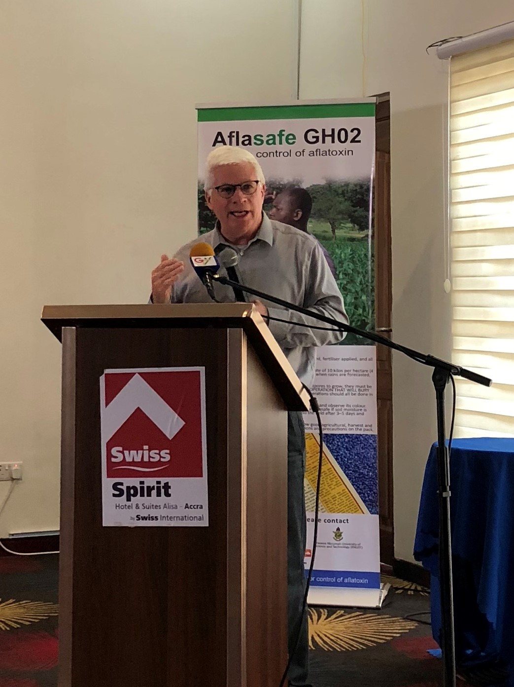 Aflasafe GH02 launched in Ghana
