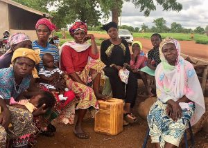 Women soybean farmers in Ghana's Northern Region (Photo credit: USAID/Kathleen Ragsdale)
