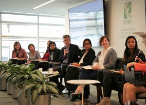 Panel discussion at the pro-WEAI launch event in Washington, DC (Photo credit: IFPRI)