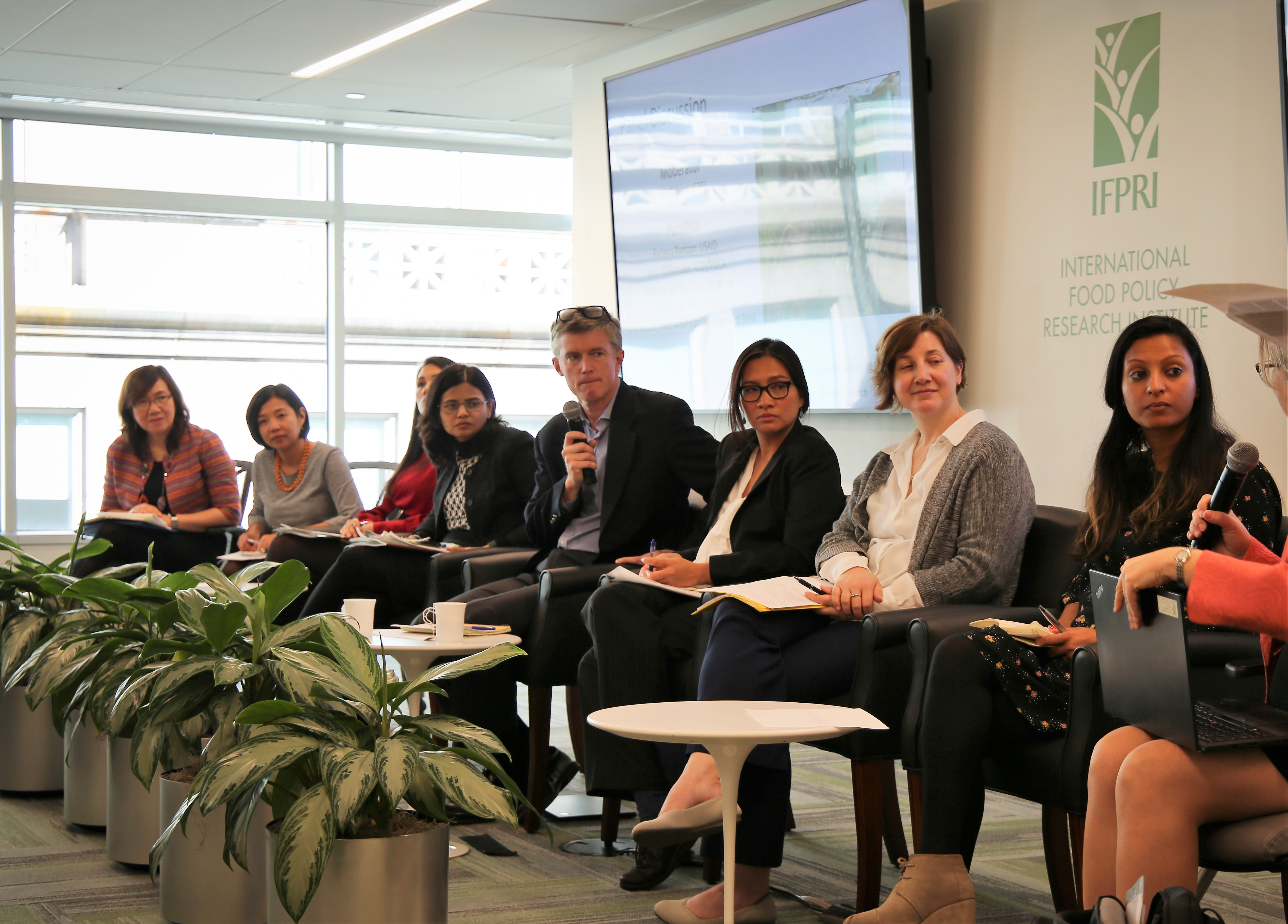 Researchers and partners in Washington, DC, discuss progress on the project-level WEAI