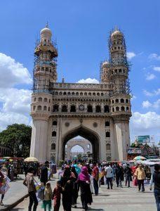 Hyderabad's famous Charminar (Photo credit: Elena Martinez/IFPRI)